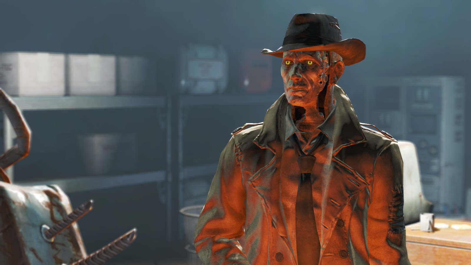 Toll Fallout 4 Nick Valentine