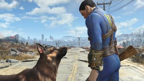 Fallout 4 - Dogmeat Behind the Scenes (ES)