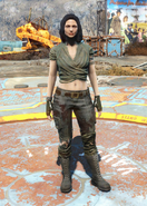 Fo4 Wrap and Ripped Jeans female