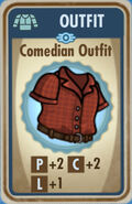 FoS Comedian Outfit Card