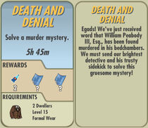 FoS Death and Denial card