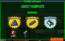 FoS Friendly Settlement! rewards C