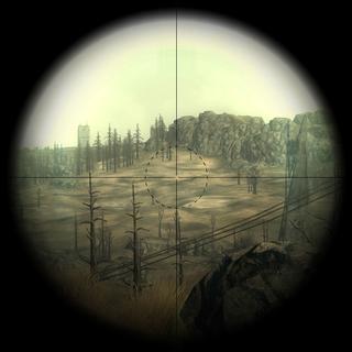 Вид через оптичний приціл