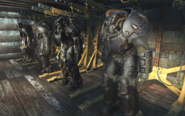 Onyx paint T-60 and X-01 power armor