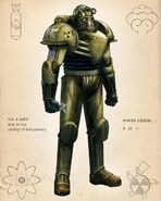 PV13 power armor CA color Cleveland
