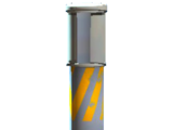 Emergency flare shell