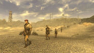 FNV 1st Recon marches through El Dorado Dry Lake