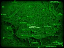 FO4 Адвокатская контора студгородка (карта мира)