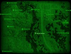 FO4 Укрытие снайпера (карта мира)