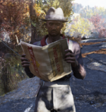 FO76WL Settler with map