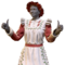 FO76 Atomic Shop - Mrs. Claus' dress