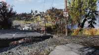 FO76 Location road sign new 5