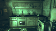 FO76 ransacked bunker kitchen