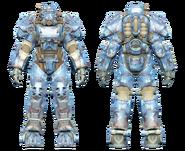 FO4CC T-60 power armor aquatic camo