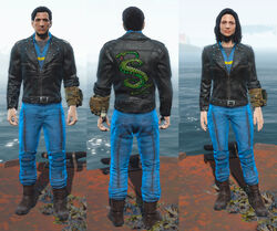FO4CC Tunnel Snakes outfit