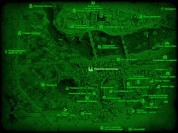 FO4 Переулок висельника (карта мира)