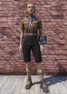 FO76 Pioneer Scout Possum Shorts