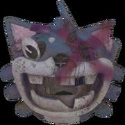 FO76 Soiled Mr. Fuzzy mascot head