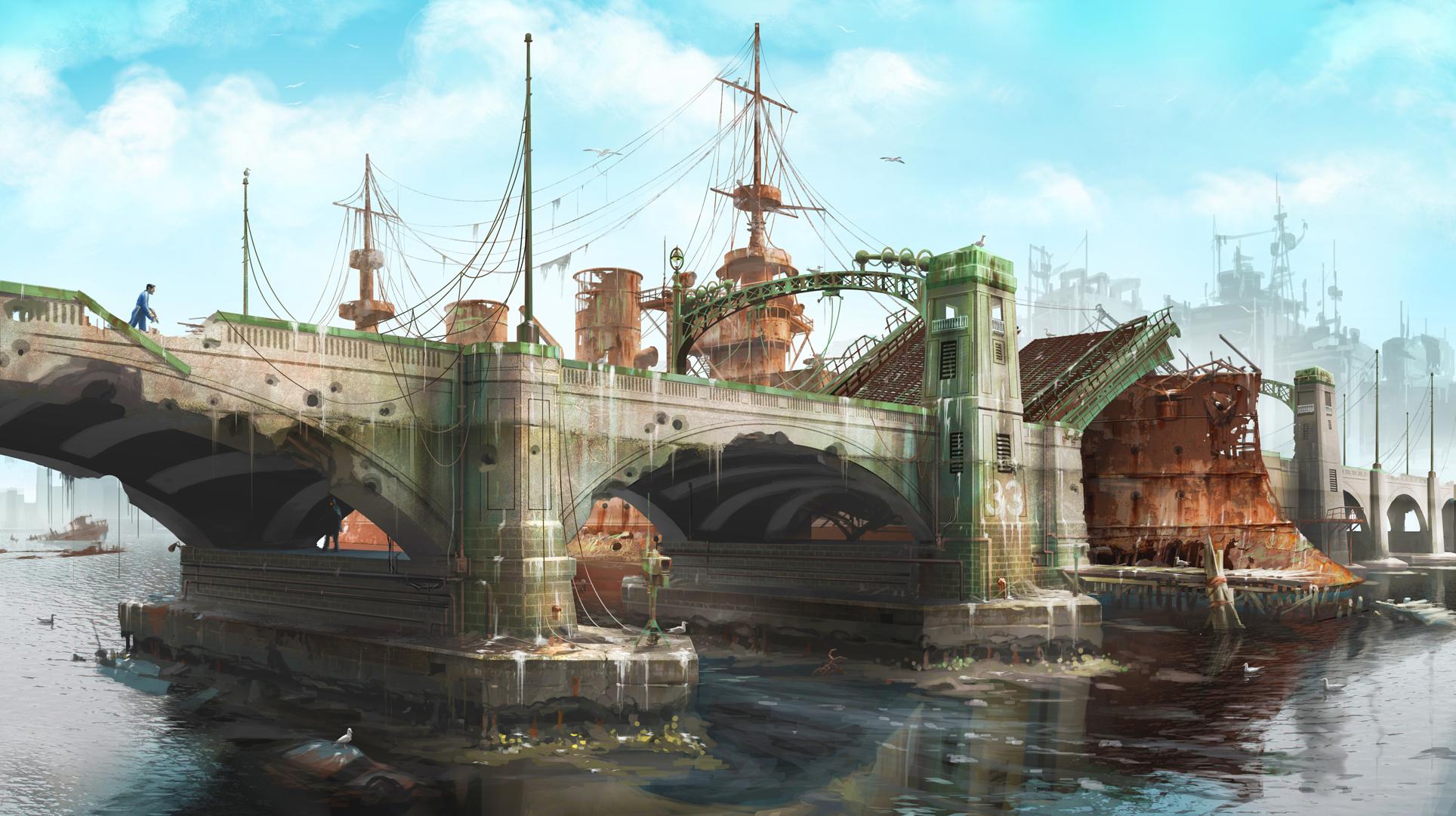 Fallout4 Concept Bridge