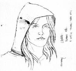 Laura szkic koncepcyjny