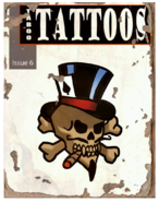 Taboo Tattoos Issue 06 Player Skull