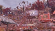 Tyler County fairgrounds ferris wheel