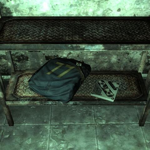 Комбінезон Сховища 77 і голодиск «Спаліть проклятущий комбінезон»