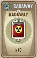 10 Radaway card