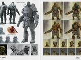 Super mutant armor