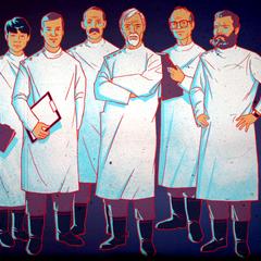 Вчені Великої Гори: Дала, 0, Бороус, Клейн, 8, Мебіус