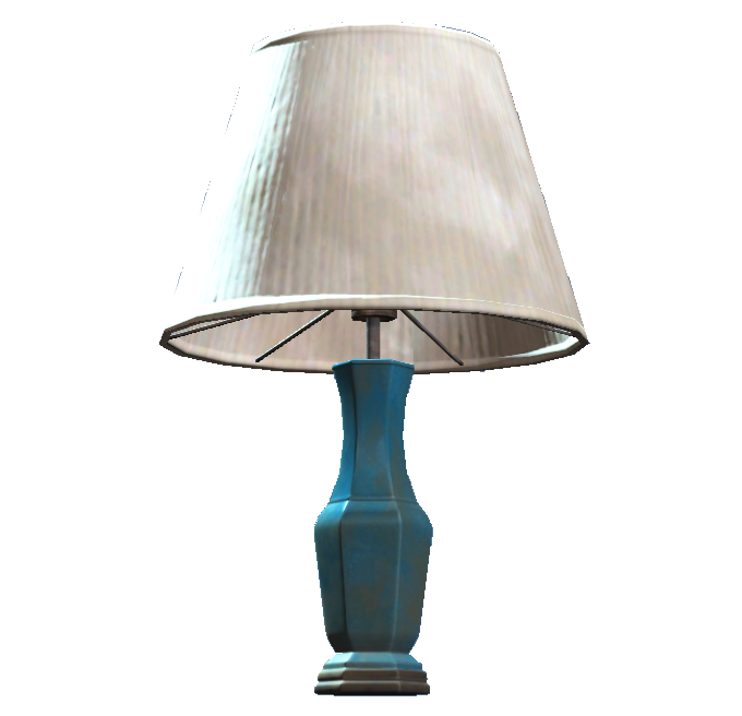 Blue table lamp fallout wiki fandom powered by wikia blue table lamp aloadofball Choice Image