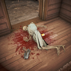 Скелет шпигунки Френні