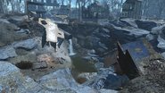 FO4 Old Gullet Sinkhole exterior 1