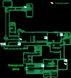 DLC01 Supply Plant map