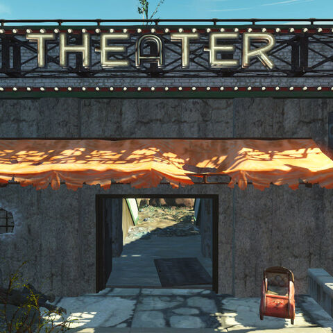Вхід в театр