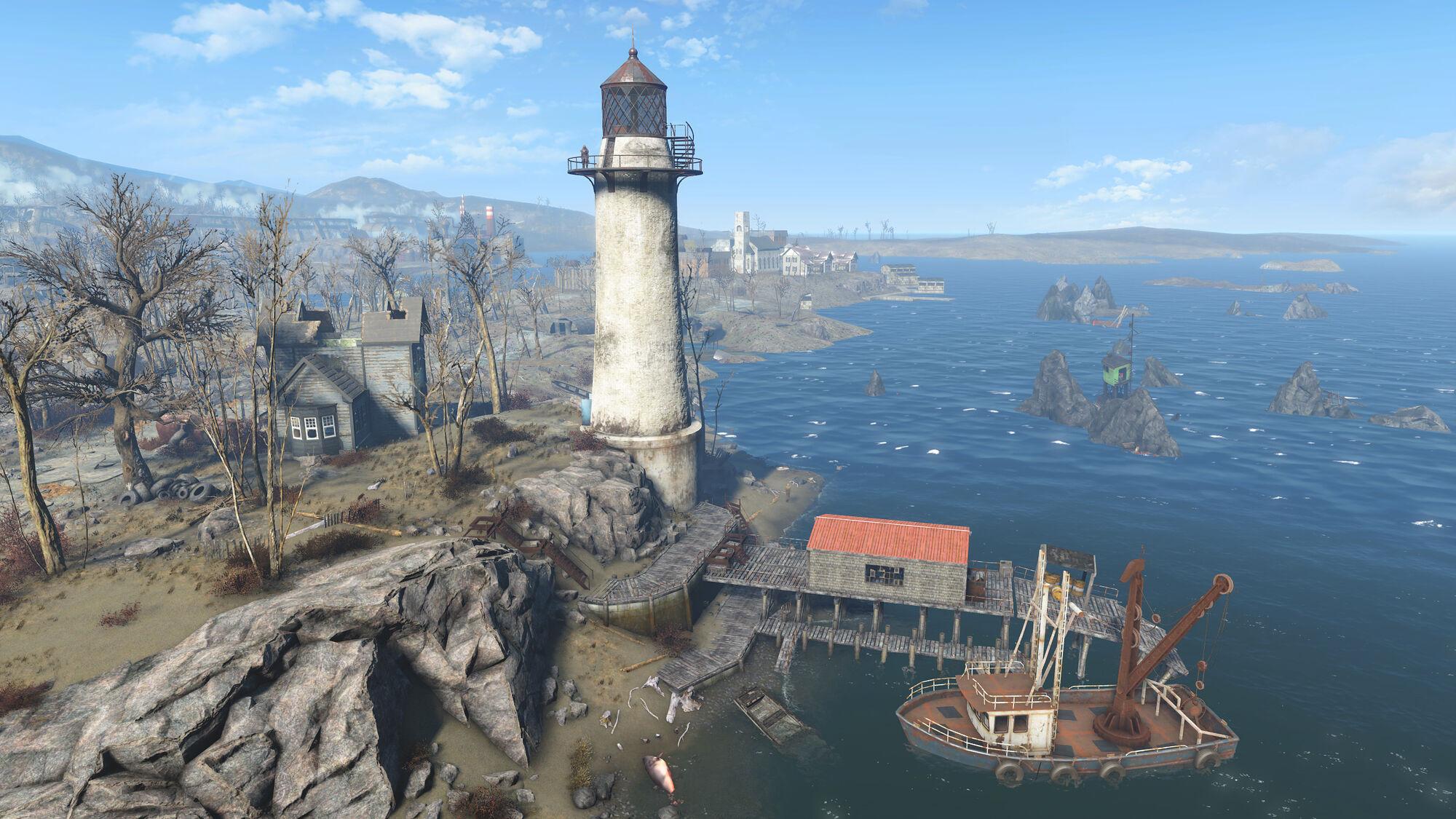 Kingsport Lighthouse Fallout Wiki FANDOM Powered By Wikia