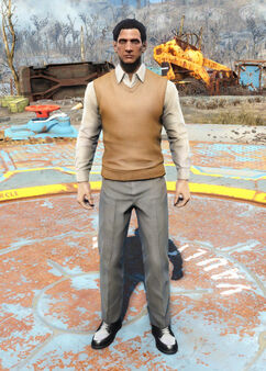 FO4 Sweater Vest and Slacks
