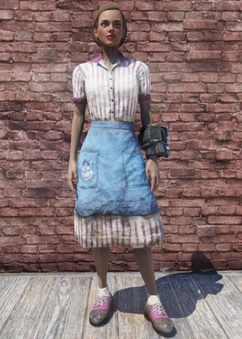 FO76 Amusement Park Worker Outfit