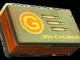 .308 caliber round