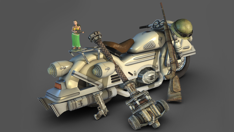 LD motorcycle concept art