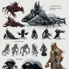 Mirelurks designs