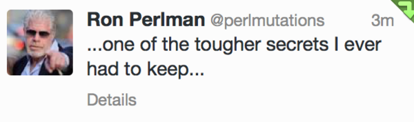 Perlman tougher secrets
