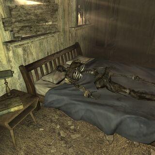 Скелет на <a href=