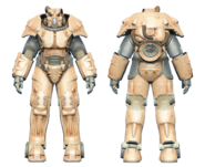 FO4CC X-01 power armor tan