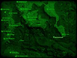 FO4 Обречённый рейс (карта мира)