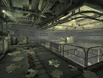Flooded Metro interior