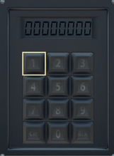 Fo76 launch code entry panel keypad