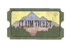 Fo76 pleasant valley claim ticket