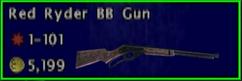 FoBoS Red Ryder BB gun
