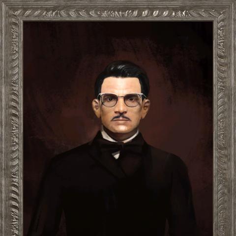Портрет Джека Кэбота в сімейному маєтку